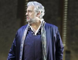 O tenor espanhol Plácido Domingo durante apresentação no teatro Scala de Milão