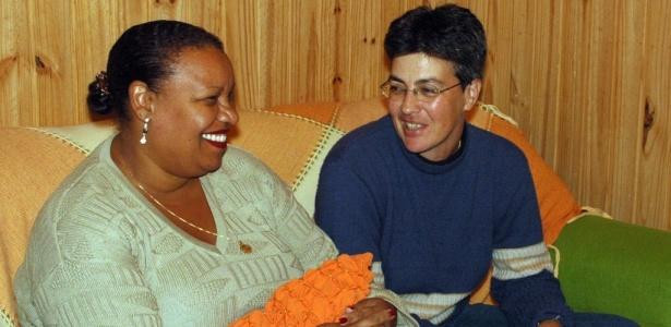 A psicóloga Luciana Reis Maidana, 36, (esq.) e a fisioterapeuta Lídia Brignol Guterres, 44