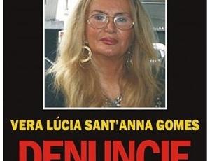 Cartaz do Disque-Denúncia dobra número de denúncias sobre paradeiro de procuradora