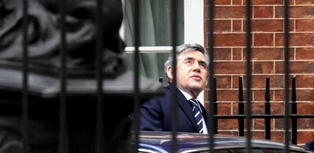O partido do primeiro-ministro britânico, Gordon Brown, não conseguiu convencer os liberais