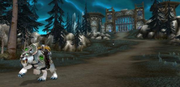 Cena do jogo World of Warcraft, da Blizzard, um dos games envolvidos na polêmica do dinheiro virtual