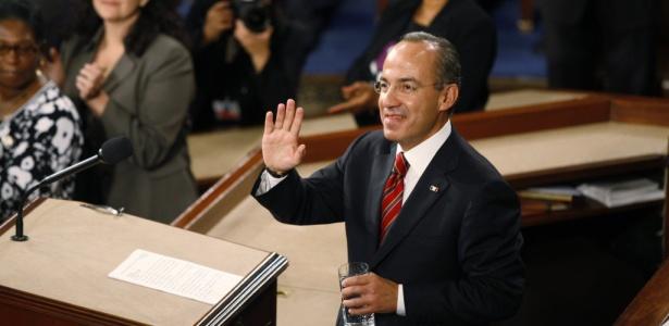O presidente Felipe Calderón entregará o poder com um balanço de mais de 50 mil mortos