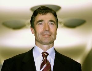 O dinamarquês Anders Fogh Rasmussen, secretário-geral da Otan