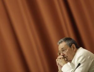 O ditador de Cuba, Raúl Castro, irmão de Fidel