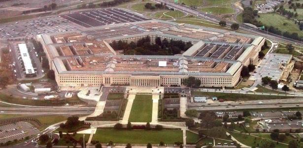 Vista geral do prédio do Pentágono, sede da Segurança dos Estados Unidos