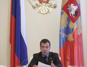 Segundo o presidente Dmitri Medvedev, a Rússia tem a missão de manter a paz e a ordem no Cáucaso