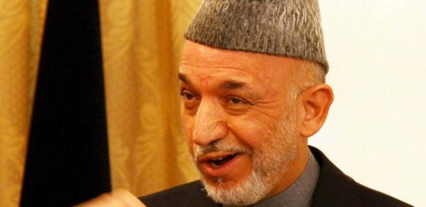 Hamid Karzai, presidente afegão