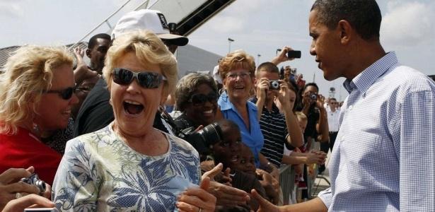 Obama durante visita à região do Golfo do México na última segunda-feira; <b>veja mais fotos</b>
