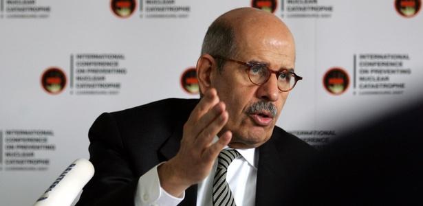 Mohamed El Baradei é ex-chefe da AIEA, Prêmio Nobel da Paz e líder pró-democracia no Egito