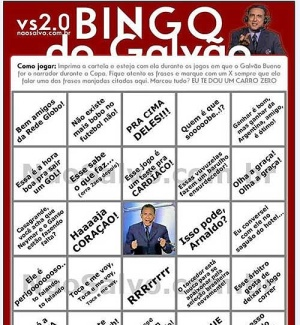 Bingo do Galvão