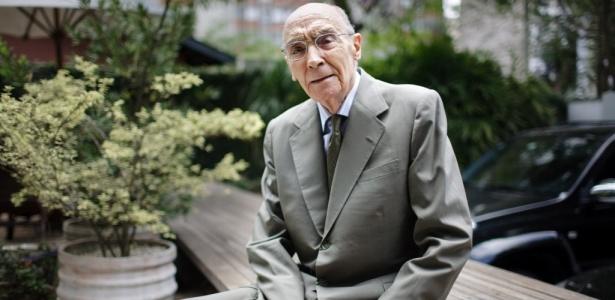 O escritor José Saramago (1922 - 2010), vencedor do Prêmio Nobel da Literatura em 1998 - Folhapress