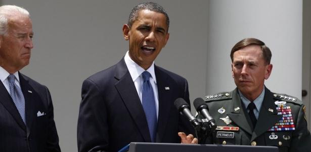 Obama confirmou a demissão do general Stanley McChrystal em um pronunciamento na Casa Branca