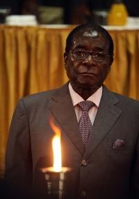 O presidente Robert Mugabe