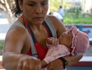 Veja mais fotos das eleições no México