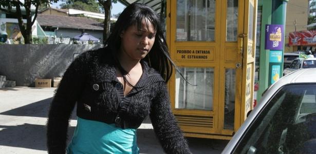 Dayanne de Souza, mulher de Bruno, está presa na penitenciária feminina Estevão Pinto, em BH