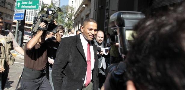 Mizael Bispo de Souza, ex-namorado e suspeito pela morte de Mércia, chega ao DHPP hoje