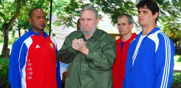 Fidel Castro fez a sua primeira aparição fora de Havana desde 2006