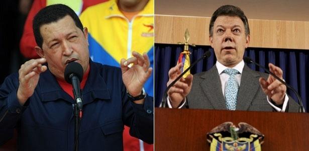 Chávez e Santos se reúnem hoje para discutir as relações diplomáticas; <b>VEJA A CRONOLOGIA</b>