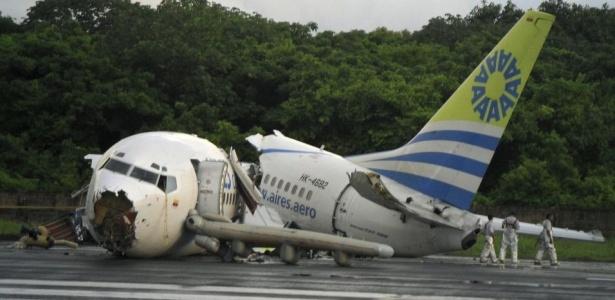 Imagens Raio Aeroporto : Quot achamos que o avião ia explodir diz passageiro