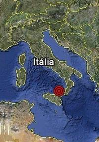 Terremoto moderado atingiu a ilha de Lipari, no arquipélago das Eólias, na Sicília, sul da Itália