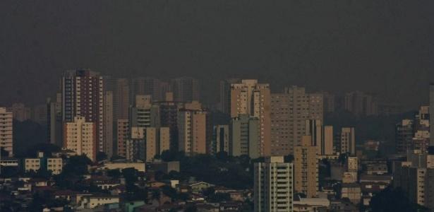A capital voltou a ficar em estado de atenção devido ao baixo índice de umidade relativa do ar