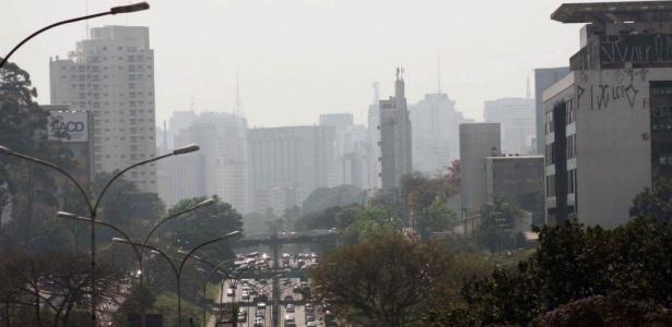 Em somente um dos 20 pontos de medição da Cetesb a qualidade do ar é considerada boa