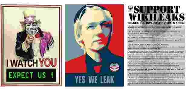 """Assange era uma das """"caras"""" da liberdade de expressão no auge do prestígio do Wikileaks - Reprodução"""
