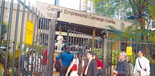 Prédio da construtora Camargo Corrêa, na zona sul de São Paulo