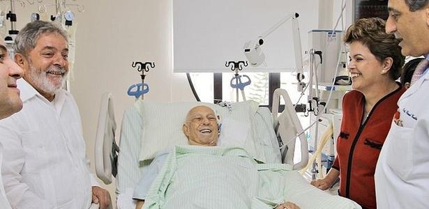 Internado alencar diz a dilma que est confiante para - Hospital sirio libanes sao paulo ...