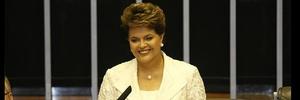 O primeiro pronunciamento: Dilma promete erradicar a pobreza extrema