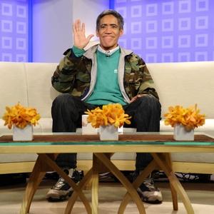 """O sem-teto Ted Williams no programa """"Today"""", da NBC (06/01/2011) - Peter Kramer / AP / NBC"""