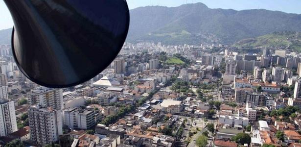 Sistema de sirenes no Morro dos Macacos, no Rio de Janeiro