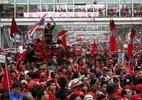 Camisas vermelhas - Tailândia, 2010