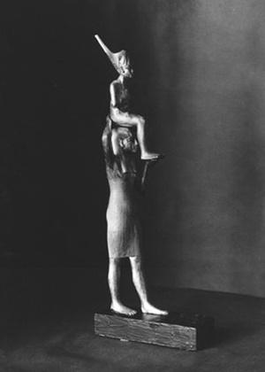 Estátua do faraó Tutancâmon, uma das peças que, segundo o governo do Egito, foram roubadas do Museu do Cairo durante a onda de protestos no país - AP