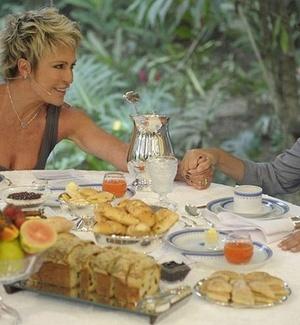 Dilma participa da gravação do programa Mais Você, da Globo, com Ana Maria Braga