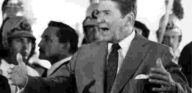 Ronald Reagan - Folha Imagem - Folha Imagem