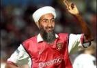 Bin Laden torcia para o Arsenal