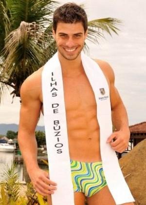 O representante das Ilhas de Búzios Lucas Malvacini é eleito Mister Brasil 2011