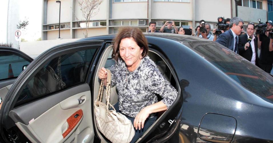 A primeira-dama de Campinas e secretária-chefe de Gabinete, Rosely Nassim Jorge Santos, compareceu ao Ministério Público de Campinas (SP)