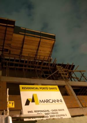 Prédio no Tatuapé, zona leste de São Paulo, cuja autorização foi fraudada