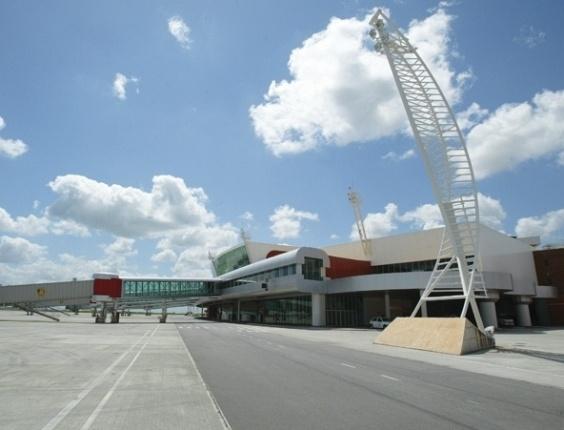 Aeroporto Zumbi dos Palmares, em Alagoas, é disputados por duas cidades vizinhas, Maceió e Rio Largo