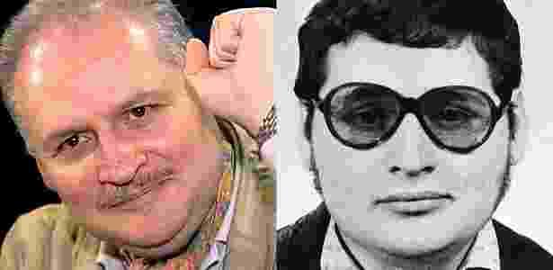 Carlos, o Chacal, em 2000 e 1975 - Reuters/Efe