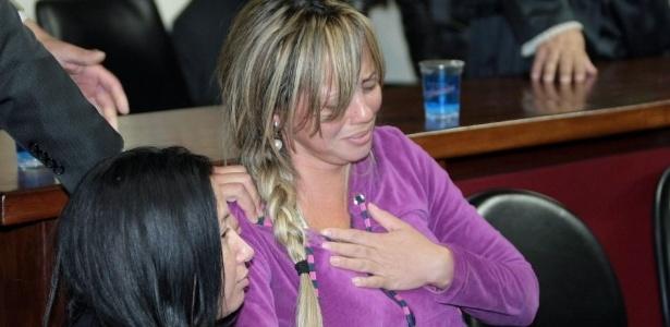 Adriana foi condenada a 20 anos de prisão por envolvimento na morte do marido que ganhou R$ 52 milhões na Mega-Sena em 2005