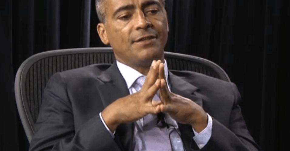 Romário sugere intervenção federal na CBF