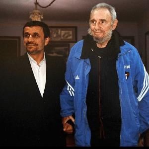 Fidel Castro e Mahmoud Ahmadineja se encontram em Cuba (13/1/2012) - www.Cubasi.cu/www.President.ir/AFP