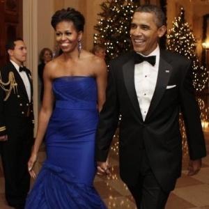 """Michelle Obama convida internautas a """"visitar"""" as obras de arte da Casa Branca - Yuri Gripas/Reuters"""