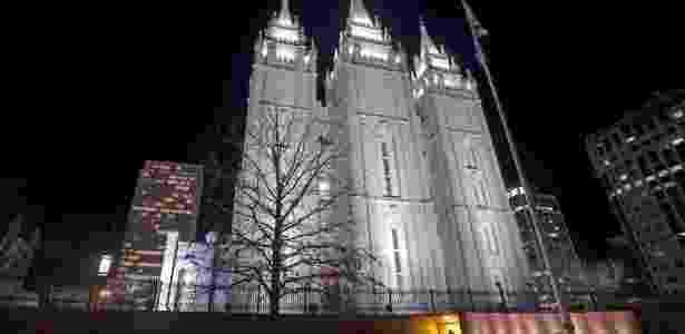 Templo mórmon em Salt Lake City, em Utah - Jim Urquhart/Reuters
