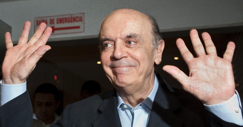 O ex-governador de São Paulo José Serra oficializa sua intenção em concorrer à Prefeitura de São Paulo pelo PSDB