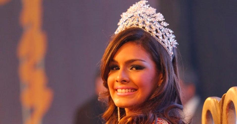 A jovem Layse Souto, 19 (foto), é a Miss Pará 2012. Ela recebeu a faixa da Miss Pará 2011, Ana Paula Padilha, e a benção da Miss Brasil 2011, Priscila Machado, em Belém