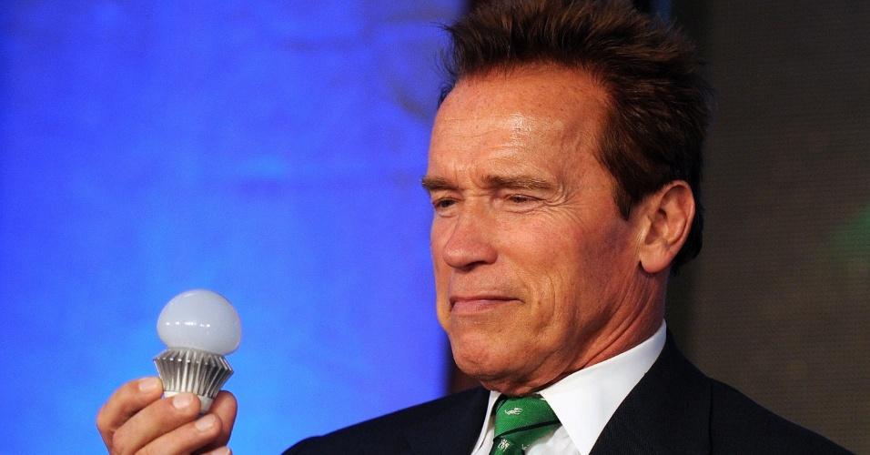 O ex-governador da Califórnia (EUA), e ator, Arnold Schwarzenegger